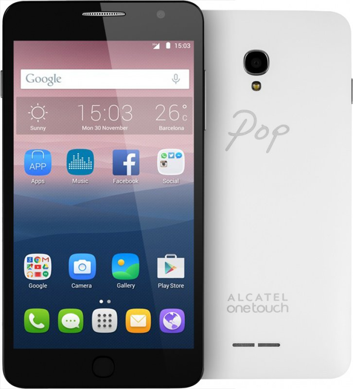 Смартфон Alcatel Pop Star 5070D (белый)