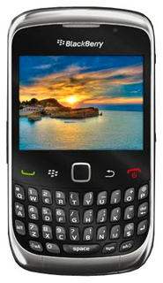 Смартфон BlackBerry Curve 3G 9300 (черный)